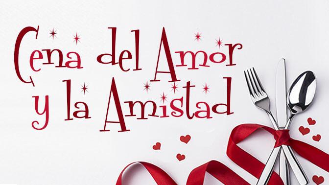 Cena del Amor y Amistad