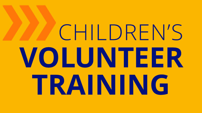 Children's Sunday Volunteer Training