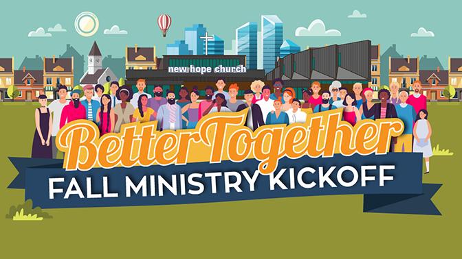 Fall Ministry Kickoff